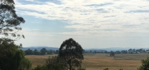 View from the balcony over Oberon